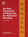 Surface Treatment of Materials for Adhesive Bonding (eBook)
